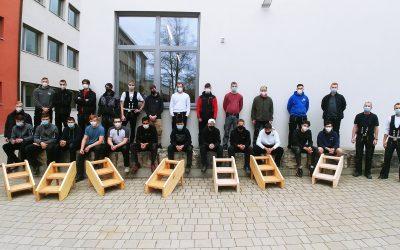 Treppenbau im BGJ